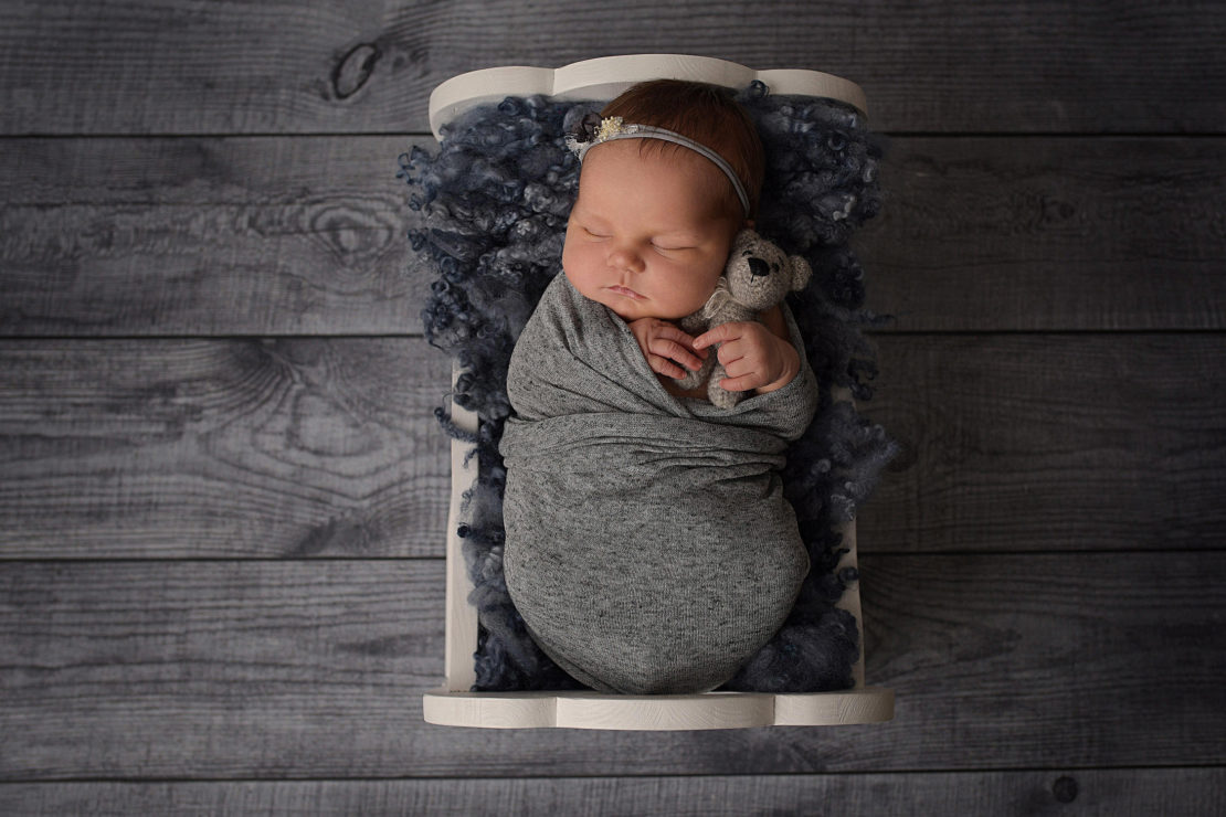 Neugeborenes Fotoshooting