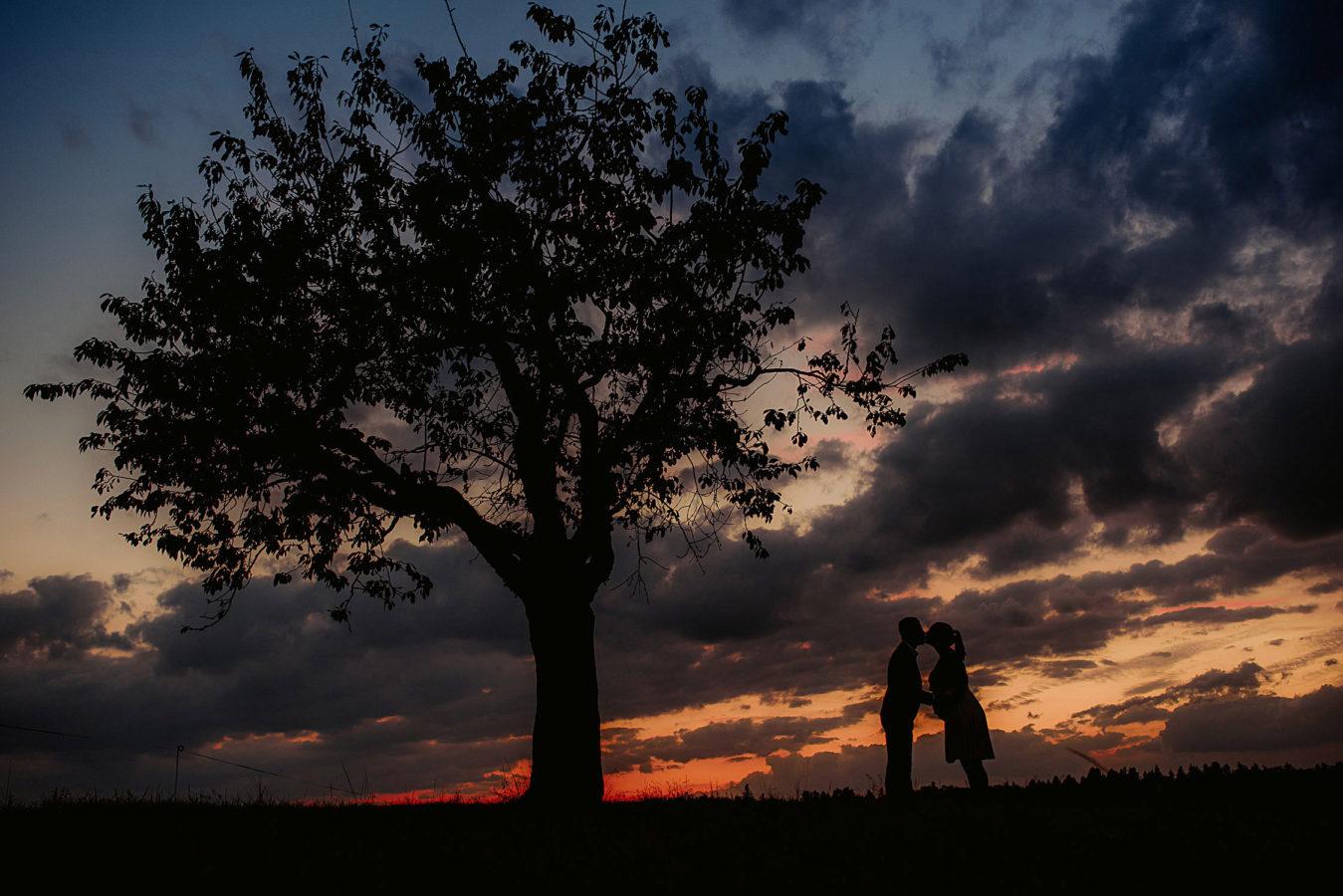 Fotoshooting Schwangerschaft outdoor